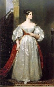 Ada, Countess of Lovelace, (1815-1852) Artist: Margaret Sarah Carpenter (c) UK Government Art Collection